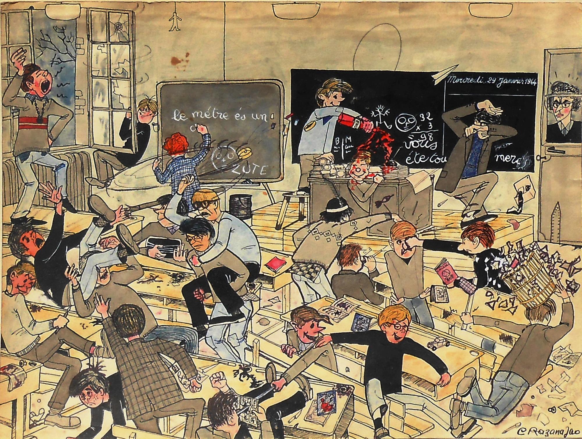 Extrêmement Récréations graphiques de Claude Razanajao 2: dessins de circonstances BK39