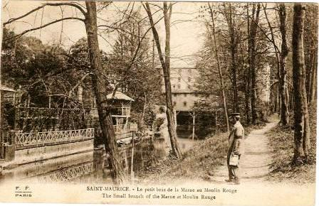 Saint-Maurice. Le petit bras de Marne