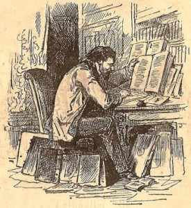 Importance. Dessin de Bertall (1878)