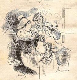 TROISIEMES  - Pourvu que l'odeur du tabac n'incommode pas madame!