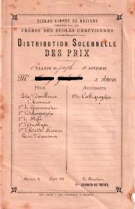 distribution solennelle des prix