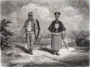 soldats chinois en 1858