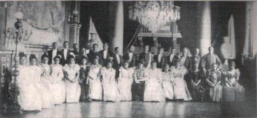 Un bal dans les salons de la Résidence générale