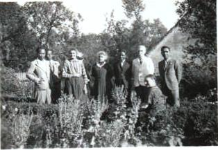 Etudiants malgaches à Magny-d'Anigon (1934)