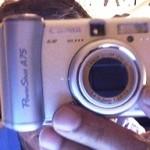 Un appareil photographique numérique en 2004