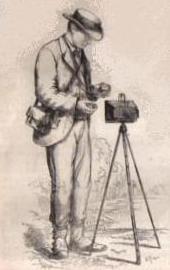 Le photographe dans la nature en 1876