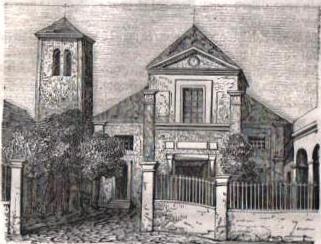 Eglise Saint-Pierre de Montmartre en 1863