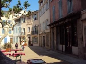 La Cadière d'Azur - Place Jean Jaurès
