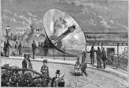 Générateur solaire de Mouchot
