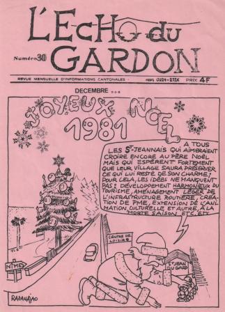 Écho du Gardon, numéro 30
