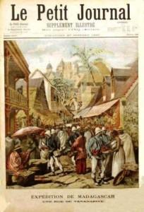 L'occupation de Tananarive (1895)