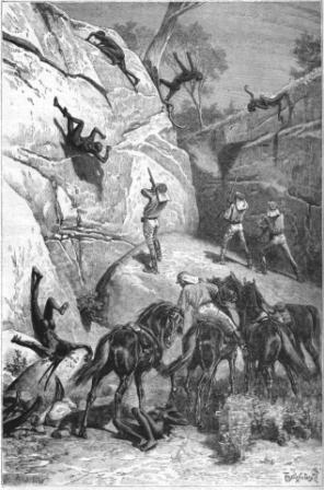 Police noire en Australie (19e siècle)