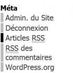 menu meta