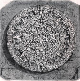 Pierre du soleil ou Calendrier aztèque