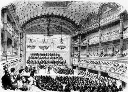 Salle de concert du conservatoire