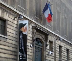 """BNF - affiche de l'Exposition """"Controverses"""", 2009"""