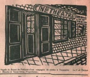 Ciné-théâtre - Bureau de publicité à Antananarivo