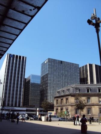 parvis e la gare de Lyon