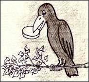 Blog Et Pourtant Il Tourne Corbeau Tenant Dans Son Bec Un