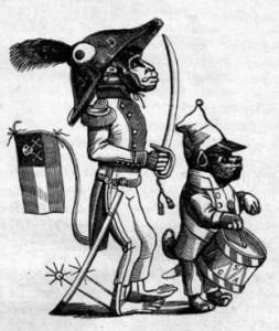 Le Noir portraituré en singe aux États-Unis en 1861