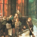 Little spies. tableau de Mulready