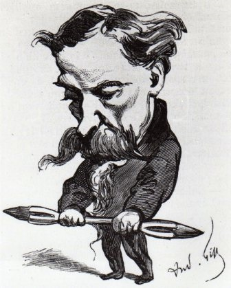 Cham - caricature de Gill restituée