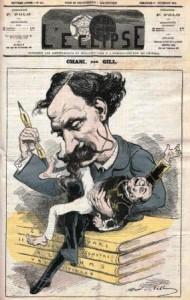 Cham caricaturé par Gill
