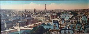 Paris - panorama des 7 ponts