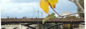 Le pont des arts cadenassé