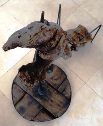 Sculpture ou griffoir