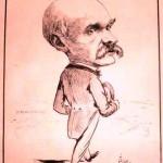 Charles Le Myre de Villers caricature