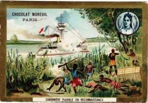Madagascar et la  colonisation française :  politique de la canonnière