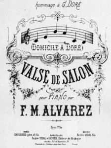 do mi si la do ré - Domicile à Doré : valse de salon pour piano