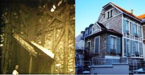 La maison de la Villa des Épinettes hier et aujourd'hui