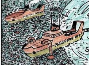 navires depollueurs - vued'artiste