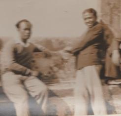 Félix Andriamanana et Albert Rakoto Ratsimamanga