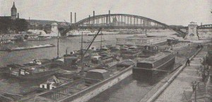 Le Pont d'Austerlitz  vers 1925