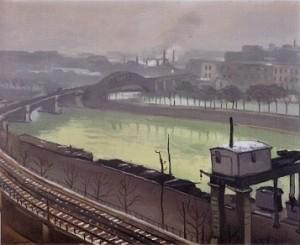 Le quai de Grenelle et le pont Rouelle