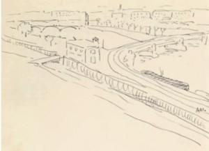 La Seine quai de Grenelle - Albert Marquet
