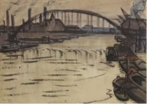 La Seine au pont Rouelle - Zingg