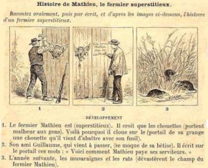 Mathieu le fermier superstitieux